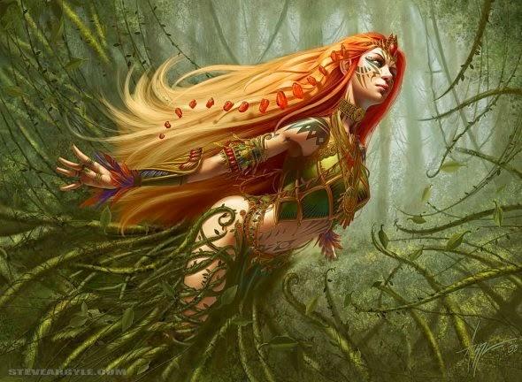 Steve Argyle deviantart ilustrações fantasia games