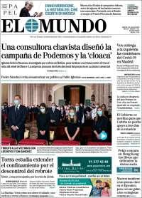 07/07/2020       ESPAÑA UNA  PRIMERA PÁGINA DE LA PRENSA