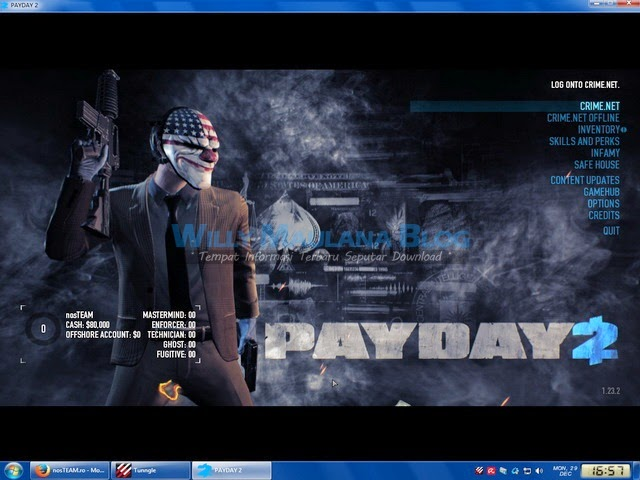 Download PayDay 2 Full Crack Terbaru