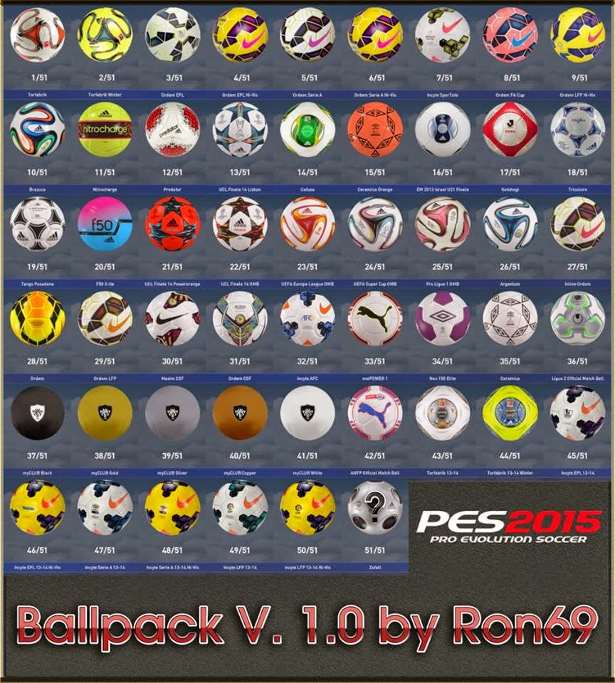 PES 2015: Ballpack 1.0 + 51 Bolas - Ron69 PES%2B2015%2BBallpack%2B1.0%2BRELEASED
