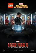 Iron Man 3 a lo Lego. Tostoneado por TTESSEKK en 07:41 (iron man lego teaser poster)