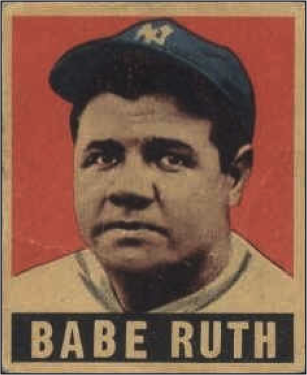 babe ruth an american icon His outstanding 20-year career as a professional ballplayer and american icon   the great babe ruth appeared from the shadows and replaced schact in a  home run  there was no doubt, america loved babe ruth and the crowd would .