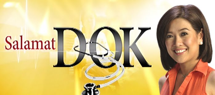 Salamat Dok! (lit. Thanks Doc!) is Philippines' medical television program hosted by Bernadette Sembrano, which provides information on diseases and medical concerns. The show also provides free on-air consultation with...