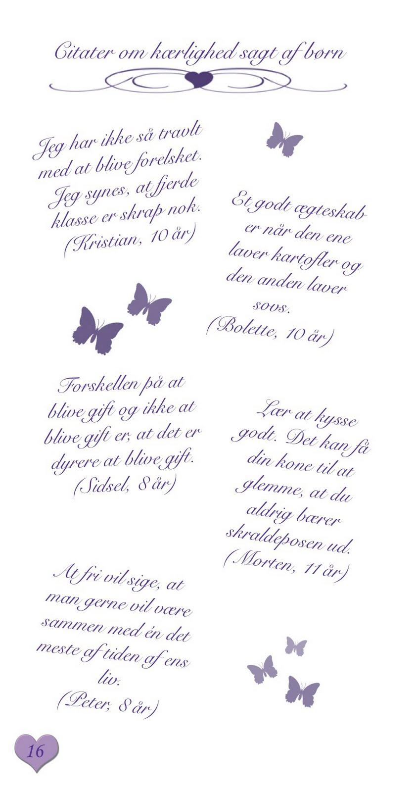 digte om kærlighed