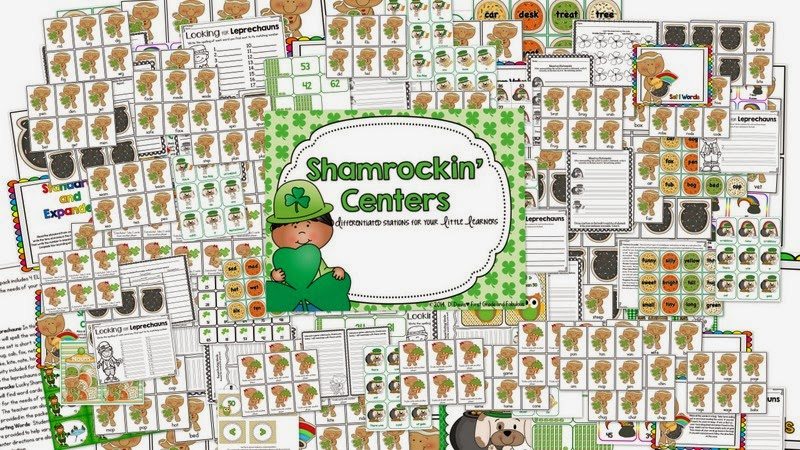 http://www.teacherspayteachers.com/Product/Shamrockin-Centers-Centers-for-Differentiated-Learning-607397