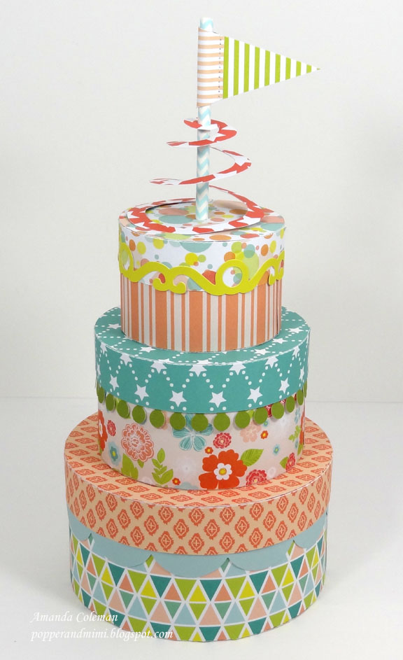 Stackable Birthday Cake Boxes