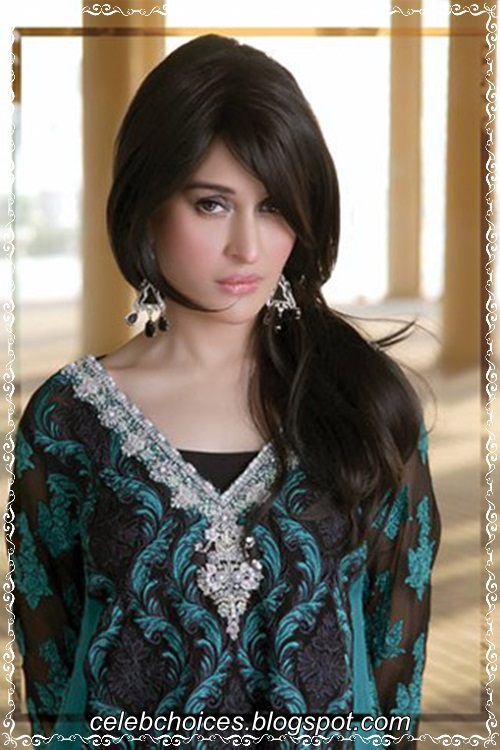 Shaista Wahidi On Carnival Firdous Lawn Collection  hot images