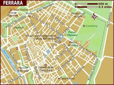Mappa Politica di Ferrara