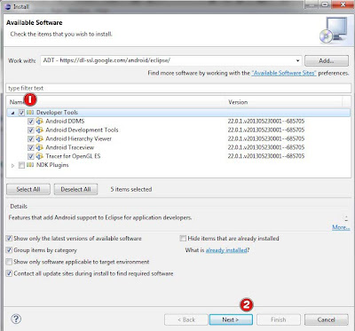 Setting ADT Plugin Pada Eclipse
