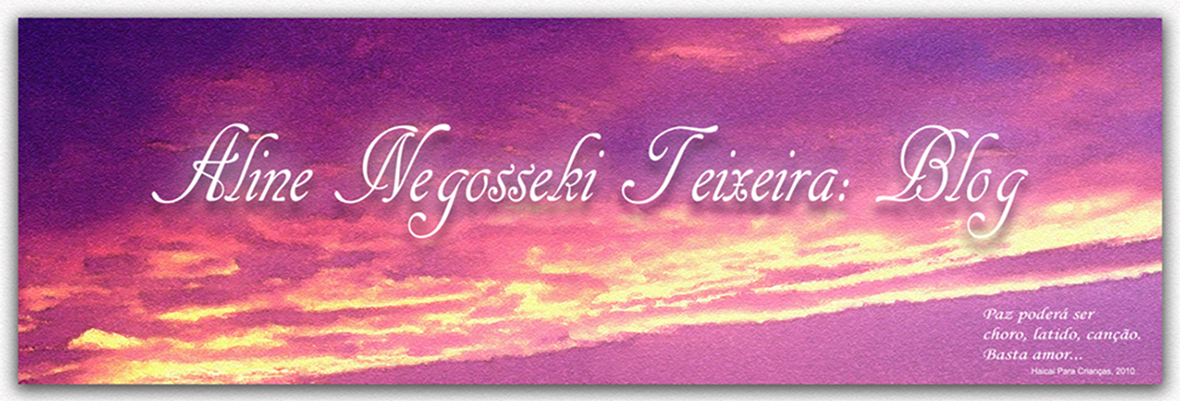 Aline Negosseki Teixeira: Blog