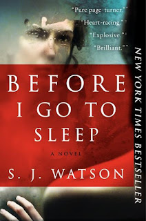 Before I go to Sleep S.J. Watson cover