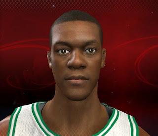 NBA 2K13 Rajon Rondo Cyber Face Mod PC