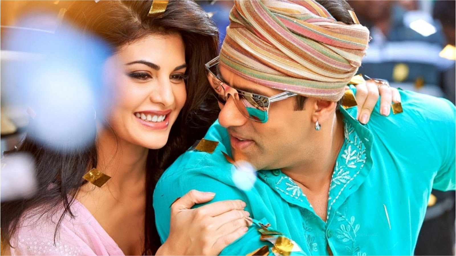 Salman Khan Jacqueline Fernandez Wallpaper HD from Kick Movie