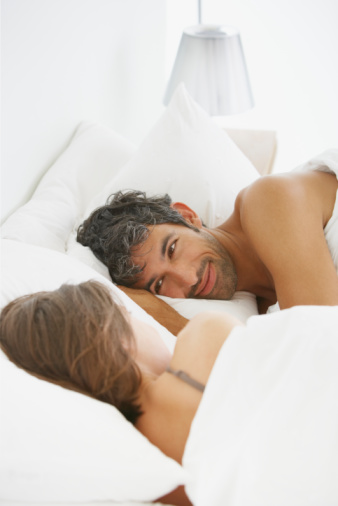 couple fall asleep after having sex Tema THM raven hentai para