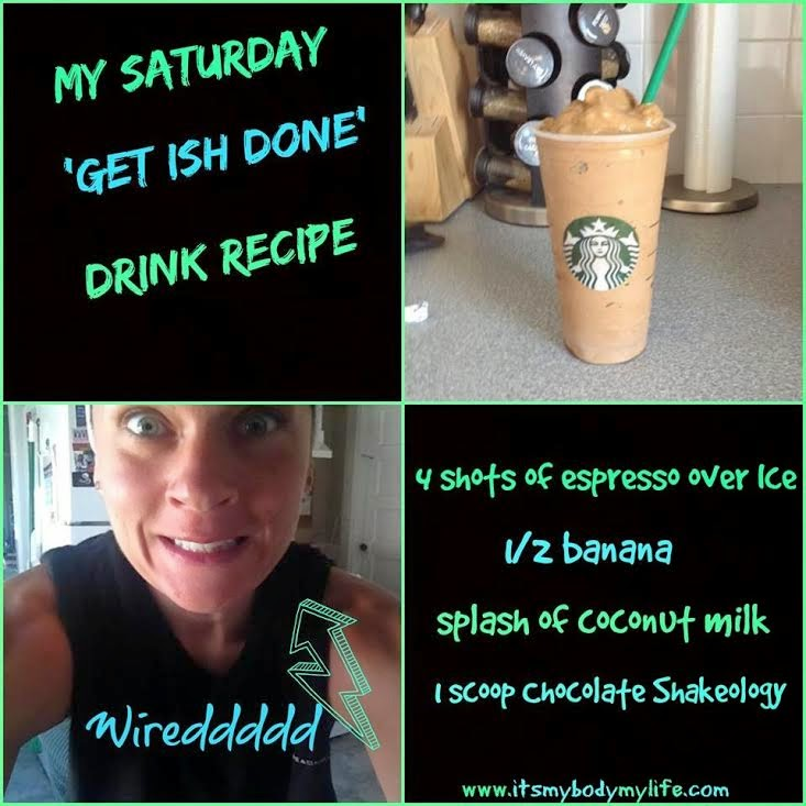 shakeology recipe, coffee, espresso, energy