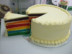 Italian Rainbow Cake