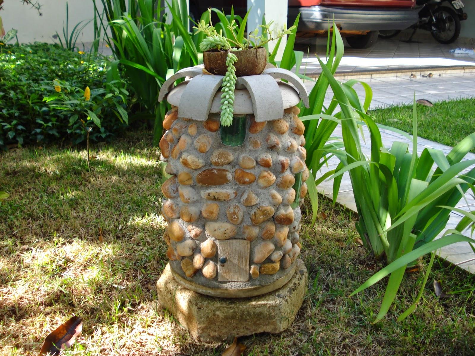 enfeites de jardim em cimento:Do avental ao salto alto: Outubro 2014