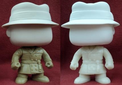 First Look: Watchmen Pop! Vinyl Figures by Funko - Rorschach Prototype