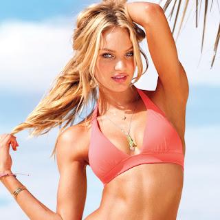 Candice Swanepoel sexy in Victoria's Secret 2012 hot bikini UHQ