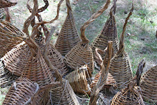 Handmade baskets of beauty.