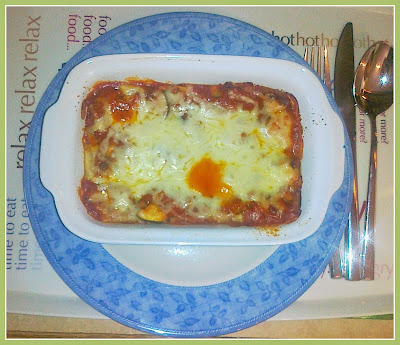 Individual Spinach & Goats' Cheese Lasagne