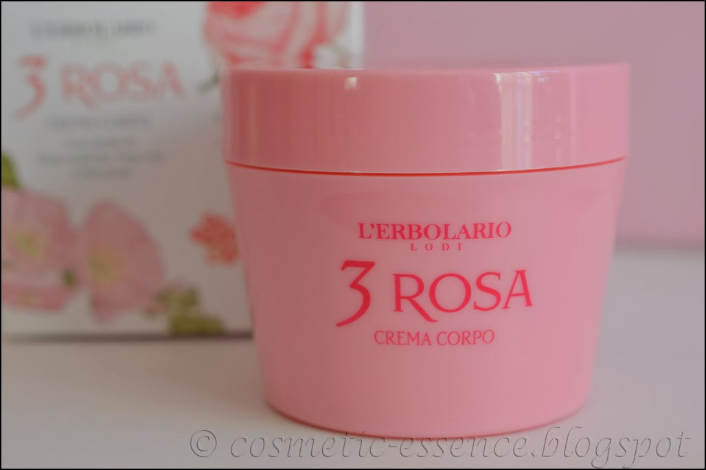 L'Erbolario 3 Rosa Body Cream