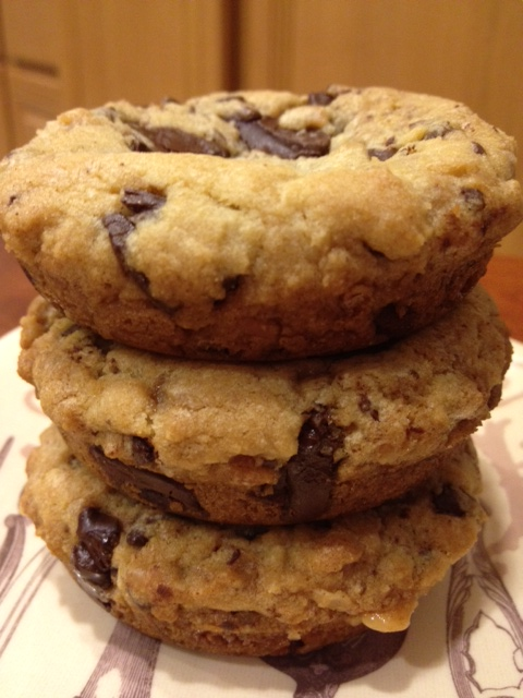 Live... Bake... Love...: Salted Toffee Chocolate Chunk Cookies