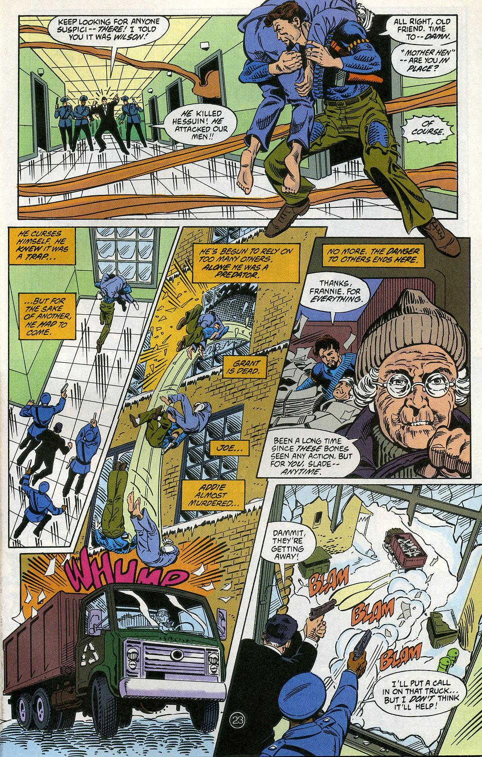 Deathstroke (1991) Issue #5 #10 - English 29