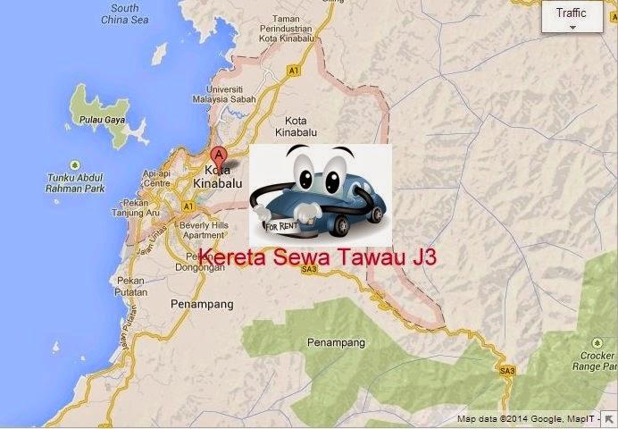 Tawau Car Rental in Kota Kinabalu