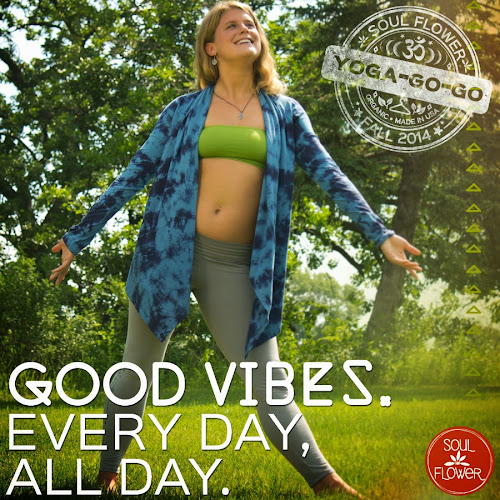 Lookbook %232   FB Quote   Good Vibes - Yoga Inspired Quotes for the Soul