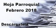 Hoja Parroquial Febrero 2018