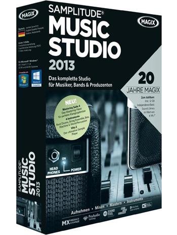 تحميل برنامج MAGIX Samplitude Music Studio 2013 مجانا للتعديل علي الصوت و الهندسة الصوتية