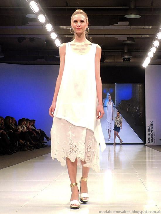 Adriana Costantini primavera verano 2015 vestidos. Argentina Fashion Week primavera verano 2015.