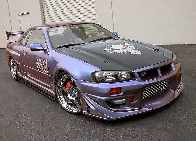 Foto Modifikasi Mobil Nissan Skyline