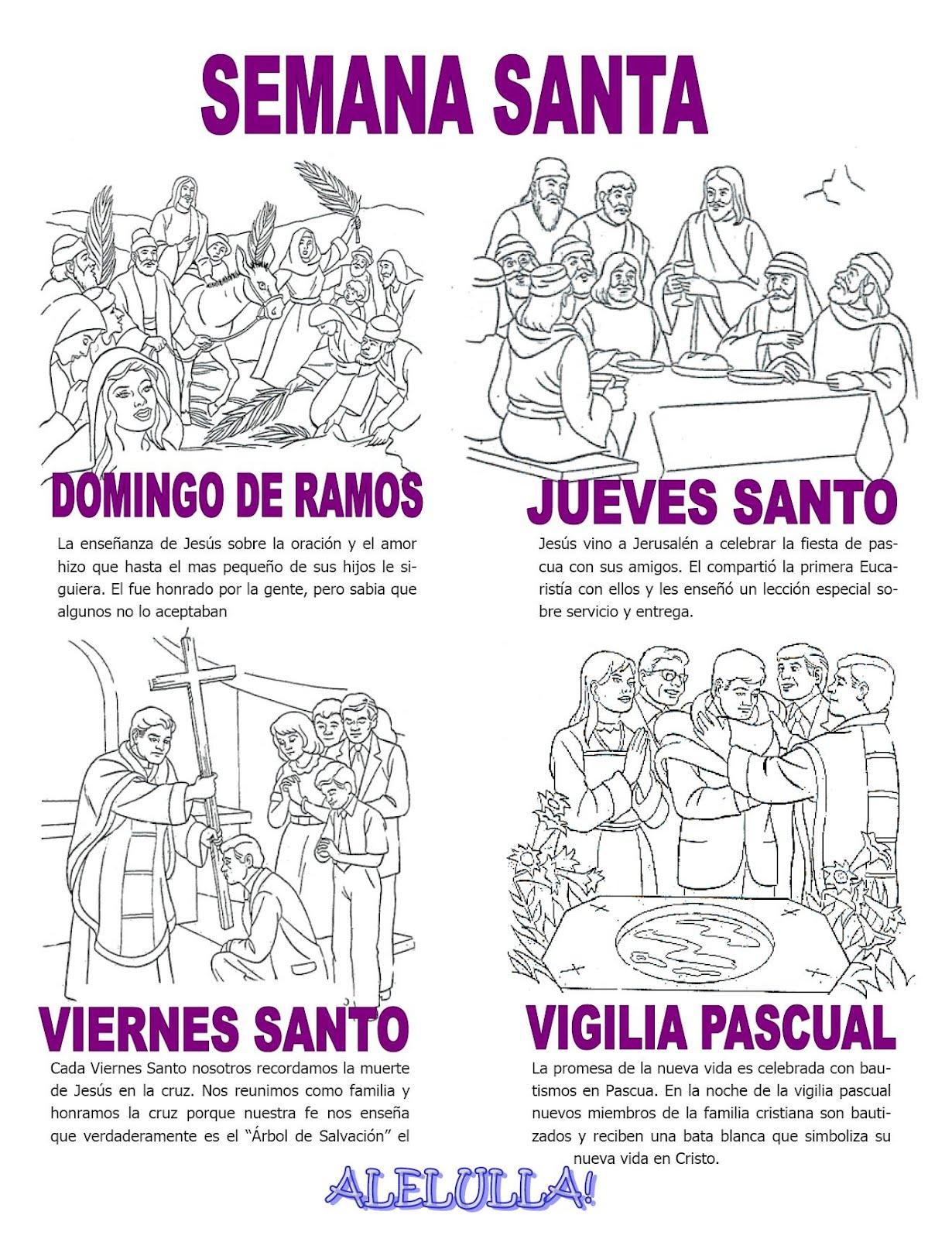 Reliartes Fichas Y Manualidades Semana Santa 2015