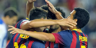 Video Gol Barcelona vs Real Sociedad 25 September 2013