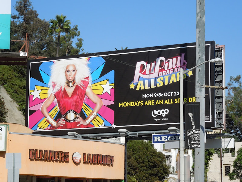 RuPauls  All Stars Drag Race billboard