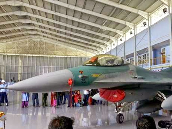 F-16 Skadron 16 Pekanbaru