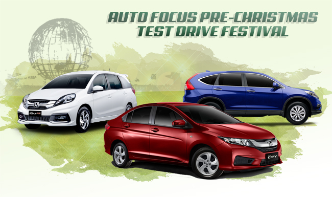 Honda Participates in the Auto Focus Pre-Christmas Test Drive Festival 2015