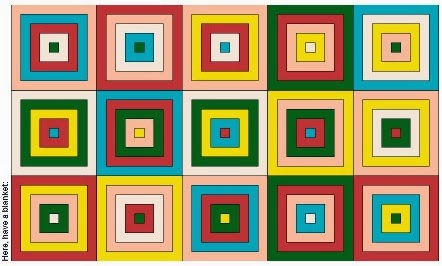 Granny Squares Color Pattern Generator