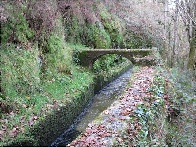 puente sobre el canal o lo que sea