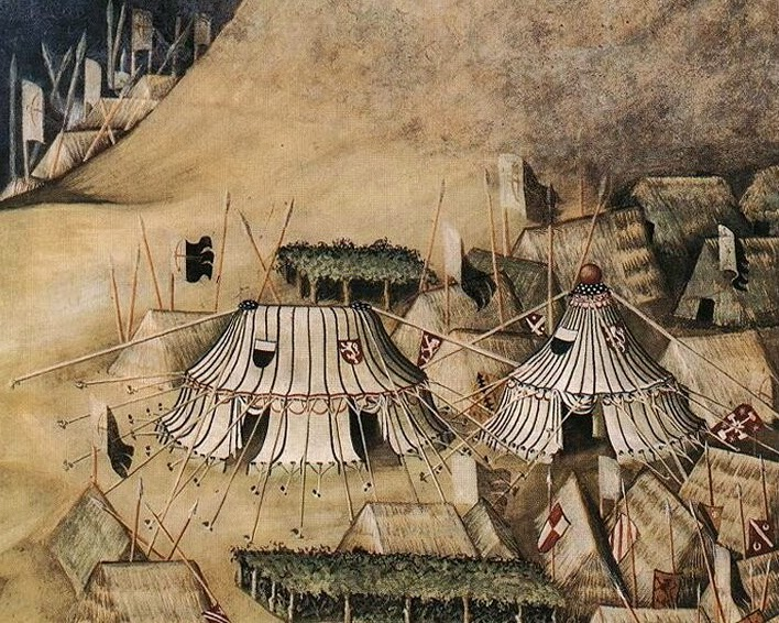 Medieval Tent Structures & A Commonplace Book: Medieval Tent Structures