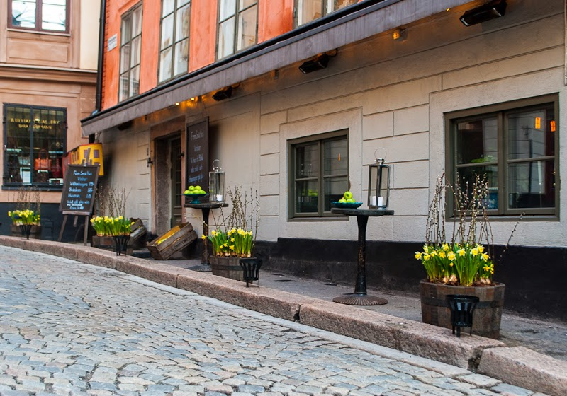 streets of stockholm old town
