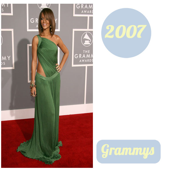 Rihanna grammys 2007
