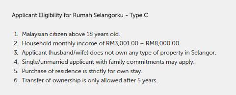 syarat Rumah Selangorku Di Bandar Saujana Putra