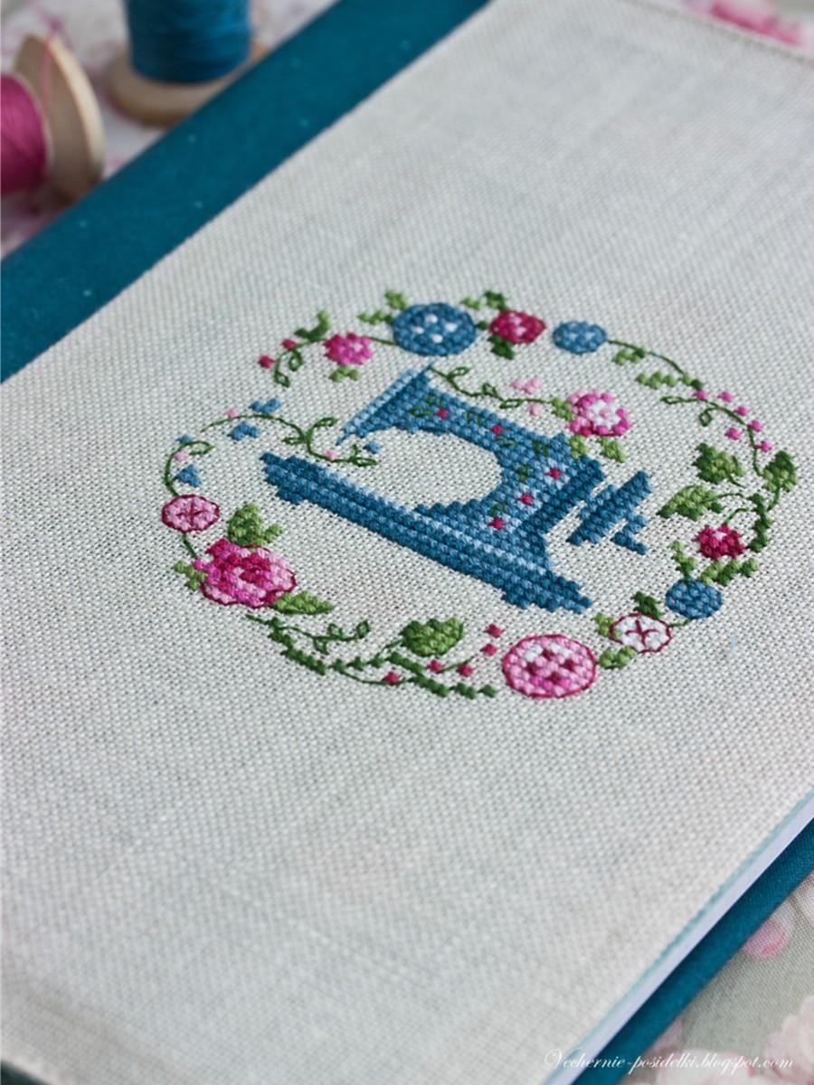 Набор для вышивки кулон