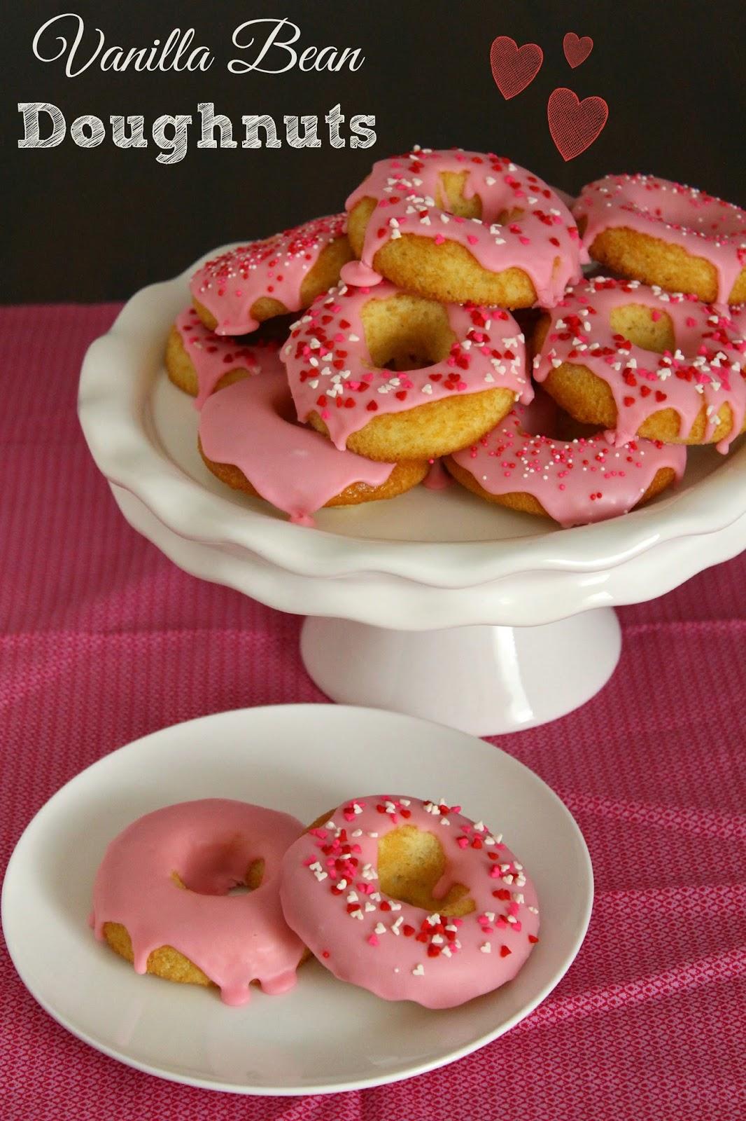 Vanilla Bean Doughnut from LoveandConfections.com