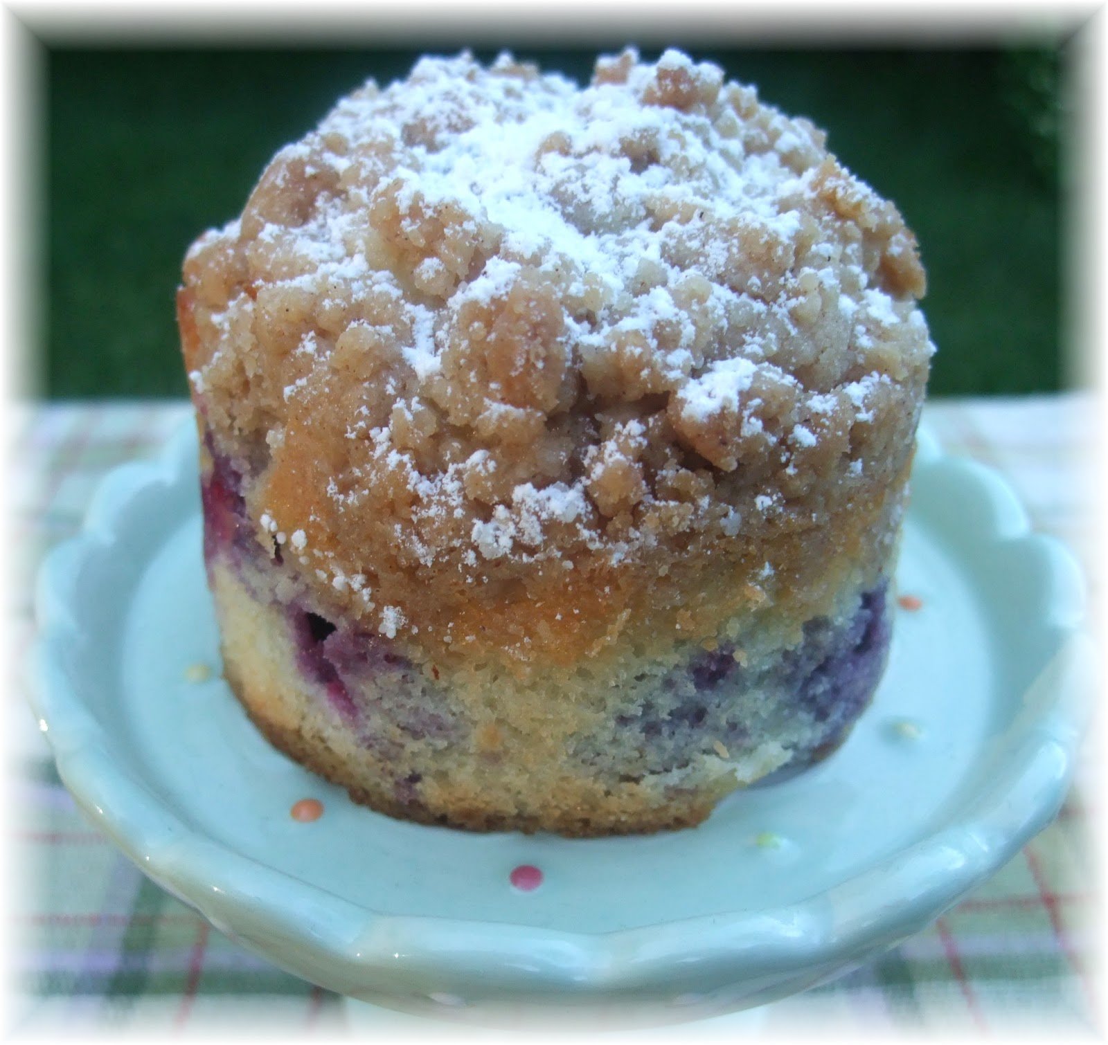 Rosie's Country Baking: Blueberry Crumb Cake
