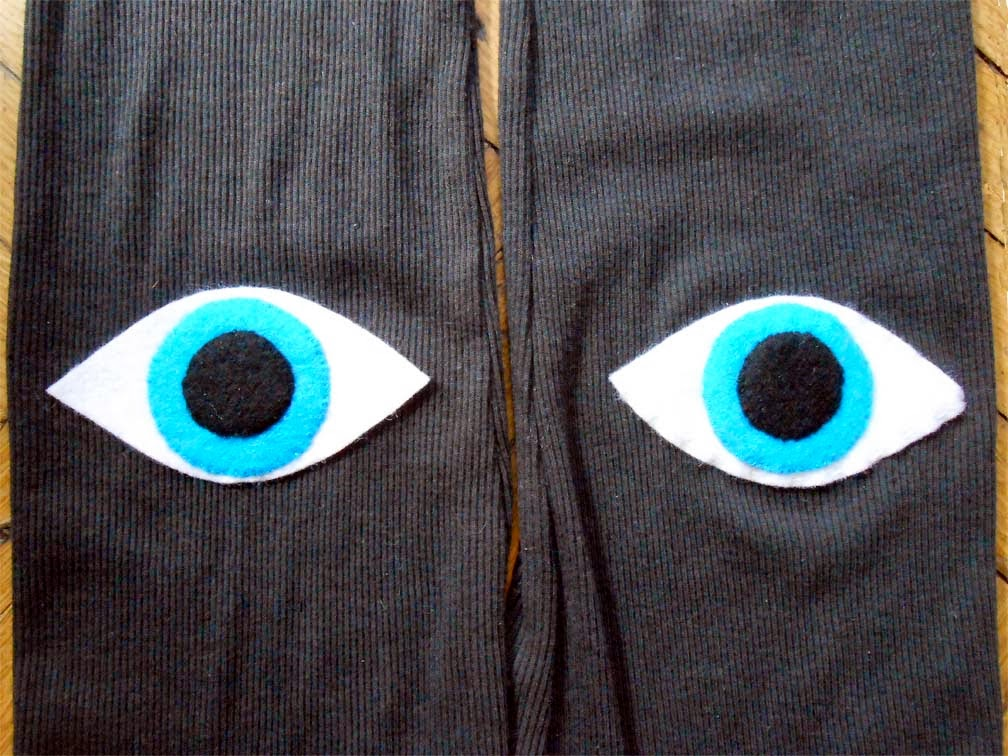 We Can Re-Do It: And The Eyes Have It: Graphic Elbow Patch Project