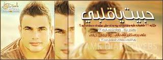 كلمات اغنية حبيت ياقلبى لعمرو دياب،كلمات اغنية حبيت ياقلبى للفنان عمرو دياب 2013